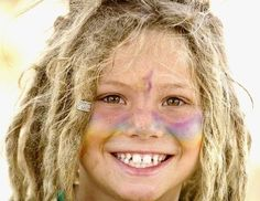 happy dready rainbow princess