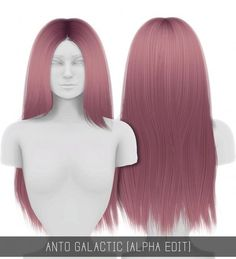 Simpliciaty: Anto`s Galactic hair • Sims 4 Downloads