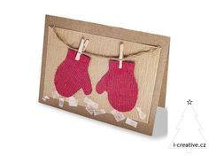 The Adorable Drying Mittens Card 49 Awesome DIY Holiday Cards Diy Holiday Cards, Christmas Card Crafts, Homemade Christmas Cards, Diy Cards, Homemade Cards, Christmas Postcards, Kids Christmas, Holiday Ideas, Christmas Cards Handmade Kids