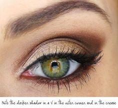 Eyeshadow tricks for mature women.
