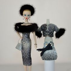 OOAK-Handmade-Vintage-Barbie-Silkstone-Fashion-by-Roxy-MIDNIGHT-MINK