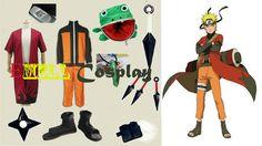 Encontrar Más Ropa Información acerca de Cosplay Naruto Konoha El Séptimo Hokage…
