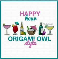 Happy Hour Charms!! Girls night out.. Pick your favorite charms for your Origami Owl Locket https://www.lovemyO2.OrigamiOwl.com/ Click to visit my facebook page. Welcome new likes everyday :) https://www.facebook.com/saraphalen2?fref=ts