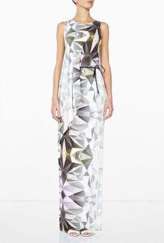 Magdalena Roped Long Dress By #Dagmar