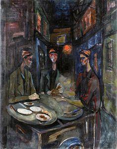 Mahmoud Sabri -Untitled  1950
