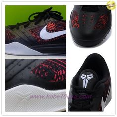 f2dd60e3157 Black   white   red Nike Kobe KB Mentality For Sale