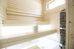 When we started building our sauna, we had a clear vision that it would be stylish. A place where you can really relax, with soft and warm shapes and colors. Now that the sauna is complete, I realize that everything we dreamed of became reality.