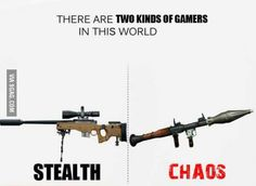 Two kinds of gamers