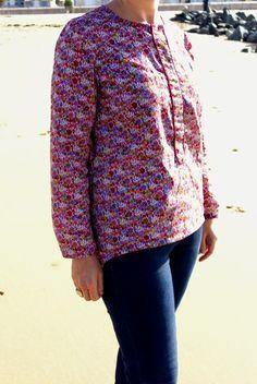 DENVER lady - sewing pattern - C'est dimanche - sewn by Francine et Rosalie