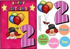 Happy 2nd Birthday  on Craftsuprint - Add To Basket!