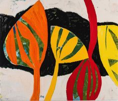 Tirra Lirra tapestry 2014 by Gillian Ayres Weftfaced | West Sussex