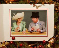 Felicitación navideña de Carlos y Camilla de Inglaterra