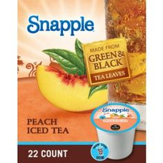 Request a FREE sample of Snapple Brew Over Ice K-Cups! This sample is from Target - they always have the best samples!