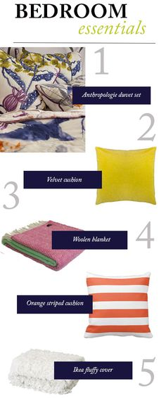 3 ways to make your bed - shopping essentials