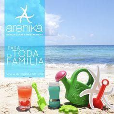 Disfruta este Fin de Semana con la #familia.  Recuerda que en #Arenika tenemos Day Pass para adultos y peques.
