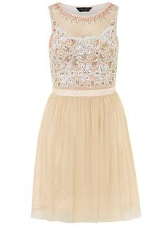 Pink embellished prom dress - View All  - Dresses