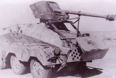 Captured by British troops in the battle of El Alamein armored car Sd.Kfz.231 with mounted 50 mm anti-tank gun PaK 38. 1942-th year. Pin by Paolo Marzioli