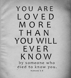 someone died to know you christian picture quote
