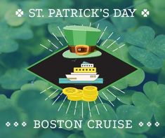 Coupon For St. Patrick's Weekend Party Cruise In Boston #BostonMA #StPattysDay #StPatricksDay #StPatricksDay2020 #Boston #NewEngland #Massachusetts #StPatricksDayIdeas #StPattysDay2020 #partycruise #StPatricksDayParty