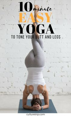 Easy Yoga Moves to Tone Your Legs and Butt