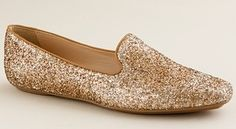 J. Crew Darby Glitter Loafers