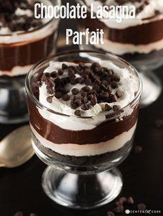 Chocolate Lasagna Parfait