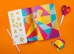 Bukvarius. Coloribus by Brandiziac, via Behance