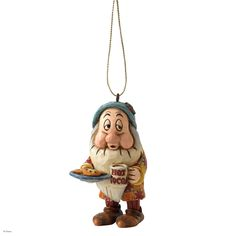 A9044 Sleepy Hanging Ornament- Disney Traditions combines the magic of Disney with the festive artistry of Jim Shore's Heartwood Creek #collectable #jimshore #disney