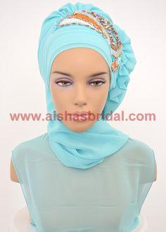 Ready To Wear Hijab  Code: HT-0241  Hijab Muslim by HAZIRTURBAN