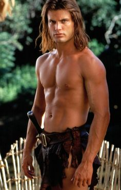 Casper Van Dien, as Tarzan