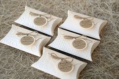 Wedding favor boxes Party Favor Boxes Embossed by PaperStudioByC