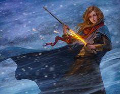 Fire Sword by DmitryGrebenkov