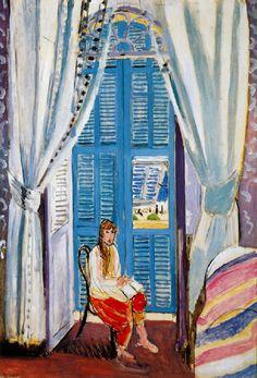 """Henri Matisse """"Les Persiennes"""" 1919"""