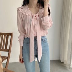 Korean Girl Fashion, Korean Fashion Trends, Ulzzang Fashion, Asian Fashion, Look Fashion, Fashion Outfits, Cute Casual Outfits, Pretty Outfits, Stylish Outfits