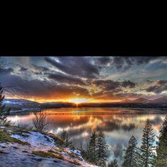 Lake Pend Orielle, near Sandpoint, Idaho