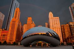 Chicago...had so much fun in the four days I spent there, lost 5 lbs lol : )