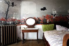 Rokeby Manor Crow Room, Hudson River Valley