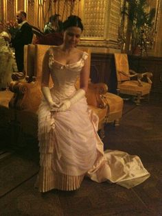 Before the Automobile: 1882 ball gown