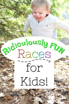 Ridiculously fun race ideas for kids! Get those preschoolers moving with these fun and easy races great for indoor and outdoor play. Gross motor activities have never been so fun! Gross Motor Activities, Outdoor Activities For Kids, Kids Learning Activities, Creative Activities, Preschool Activities, Fun Race, Kids Play Area, Amazing Race, Business For Kids