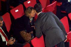 Princess Nora de Liechtenstein and Prince Felipe of Spain attend Spanish Olympic Commitee Centenary Gala in Madrid on 12 Dec 2012