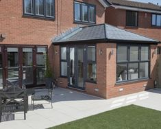 Projects Wessex Windows is part of Conservatory extension - Tiled Conservatory Roof, Conservatory Interiors, Modern Conservatory, Conservatory Extension, House Extension Plans, House Extension Design, Rear Extension, House Design, Extension Ideas