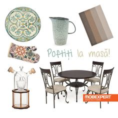 Servește masa în tihnă alături de cei dragi. #moodboard #decoideea #dining