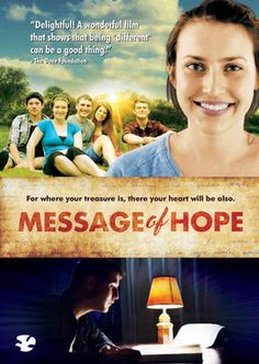 Message of Hope - DVD - Christian Family Movies - Christian Movies New Christian Movies, Christian School, Christian Music, My Father's World, In This World, Pixl Movies, Family Movies, Bethel Music, Message Of Hope