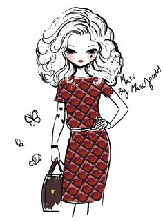 Marc by Marc Jacobs FW13 illustration