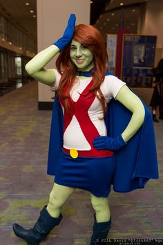 Miss martian nude cosplay accept. interesting