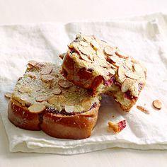 Almond and Jam Pastries | MyRecipes.com Made with almonds, sugar, butter, salt, egg, milk, jam, and brioche bread.