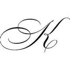 Cursive Letter K Designs - Bing Images