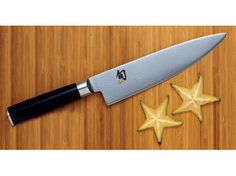 Shun Classic 8-in. Chef's Knife. Does it come with the star fruit?  #holidaycooking