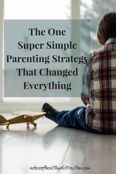 Give Your Child a Redo - it really is that simple! Invite your child to think about their own behavior and actions, and then give them a chance to try again. So Simple but so effective!