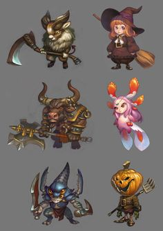 Game Character Design, Character Concept, Character Art, Concept Art, Game Design, Halloween Artwork, Chibi Characters, Monster Design, 2d Art